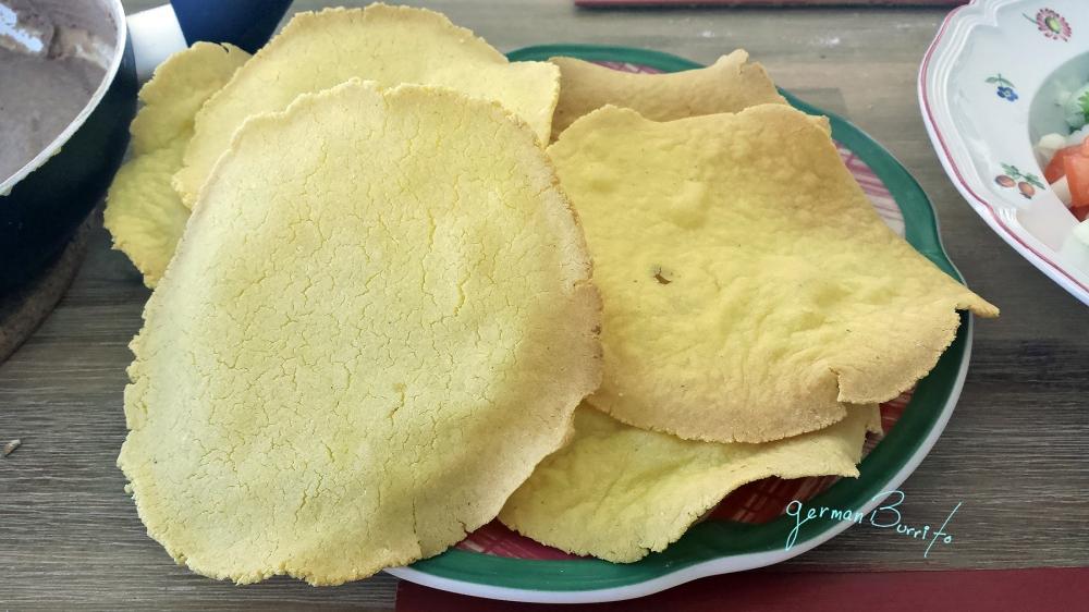 tostadas solas size